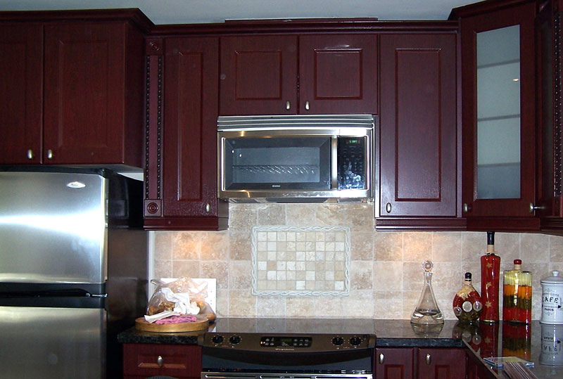 Award kitchen refacers cabinet refacing in toronto made for Save wood kitchen cabinet refinishers
